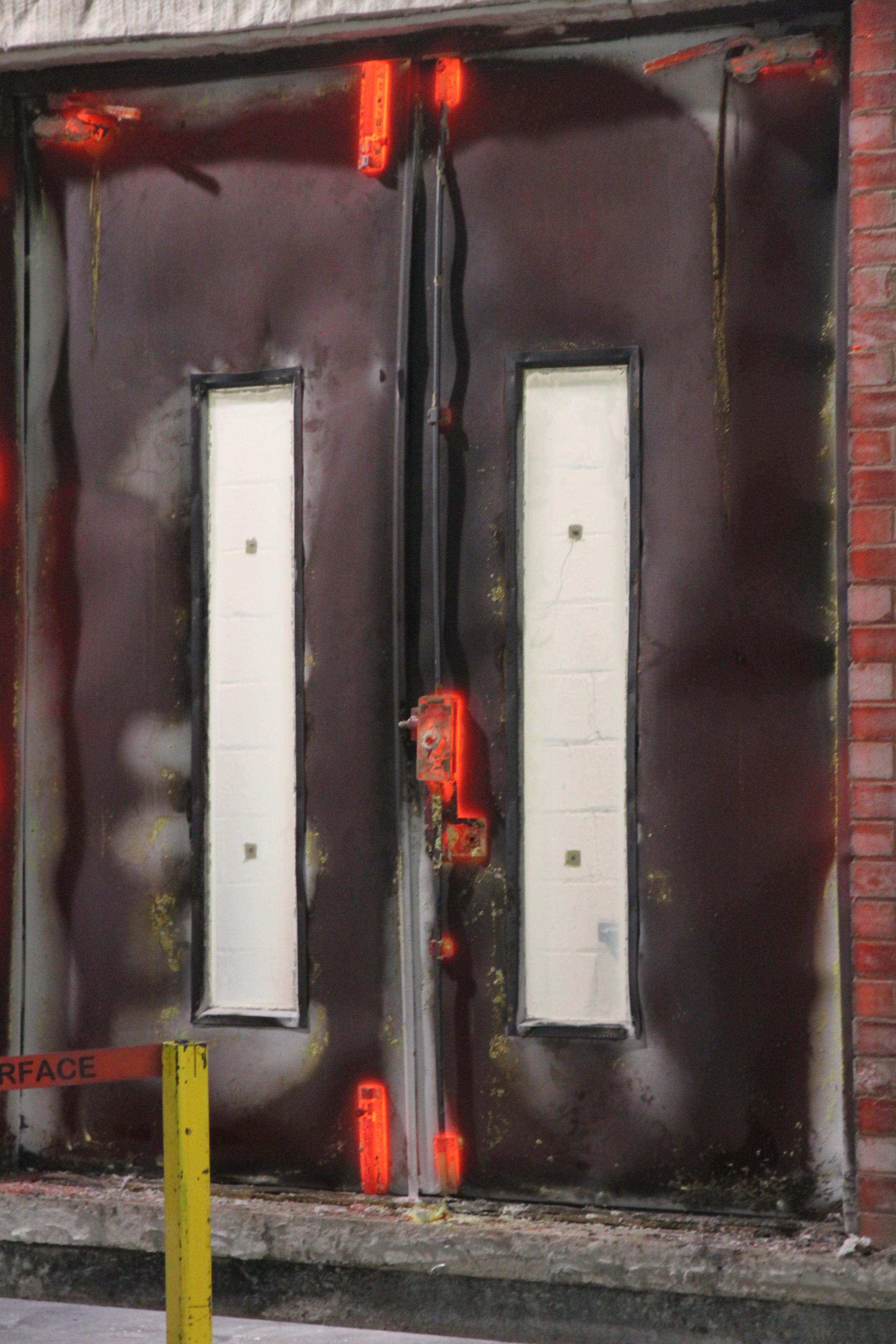 Fire Door Test : Fire testing doortechnik