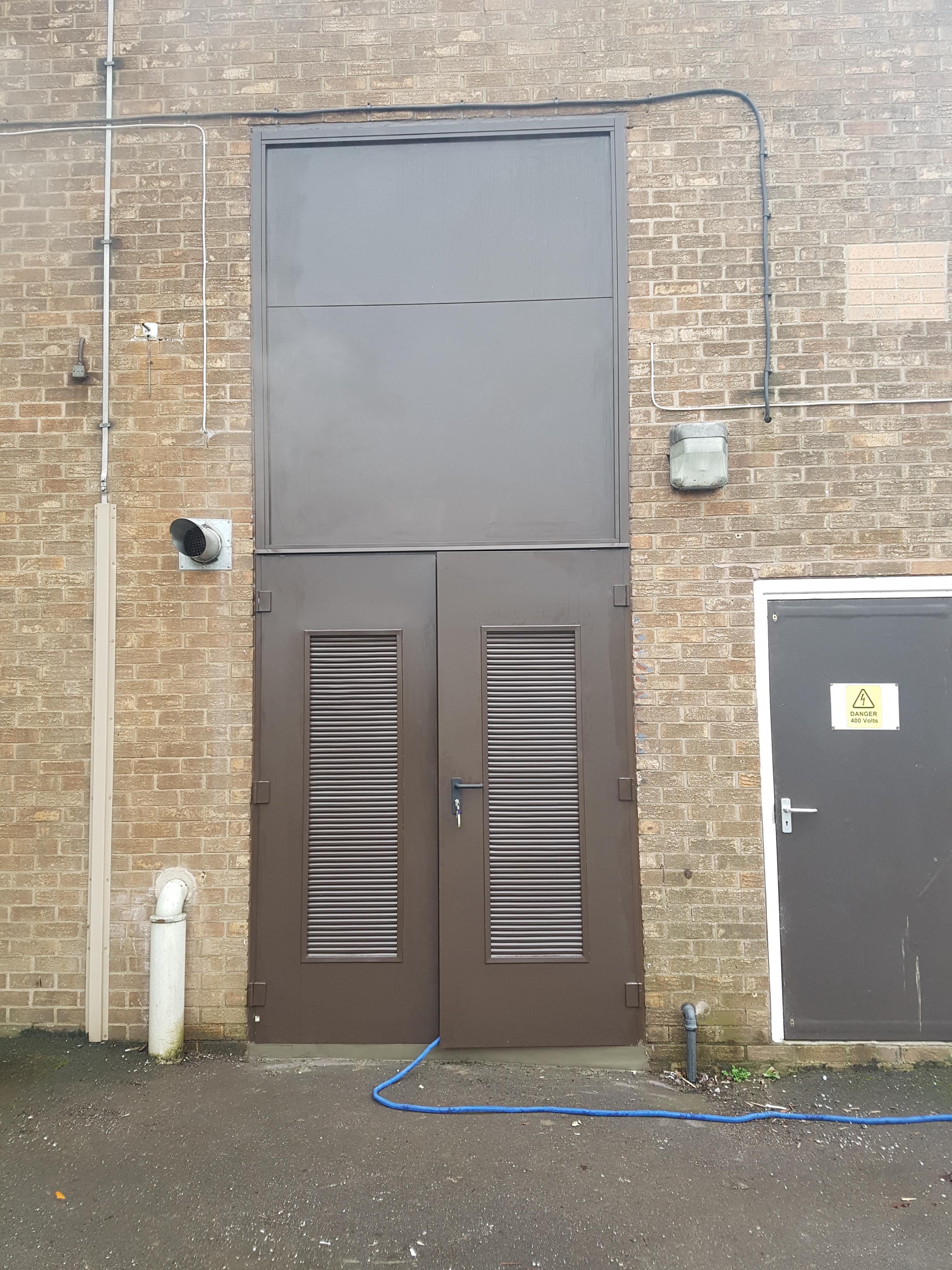 Steel doors for doncaster council doortechnik blog for Door 2 door doncaster